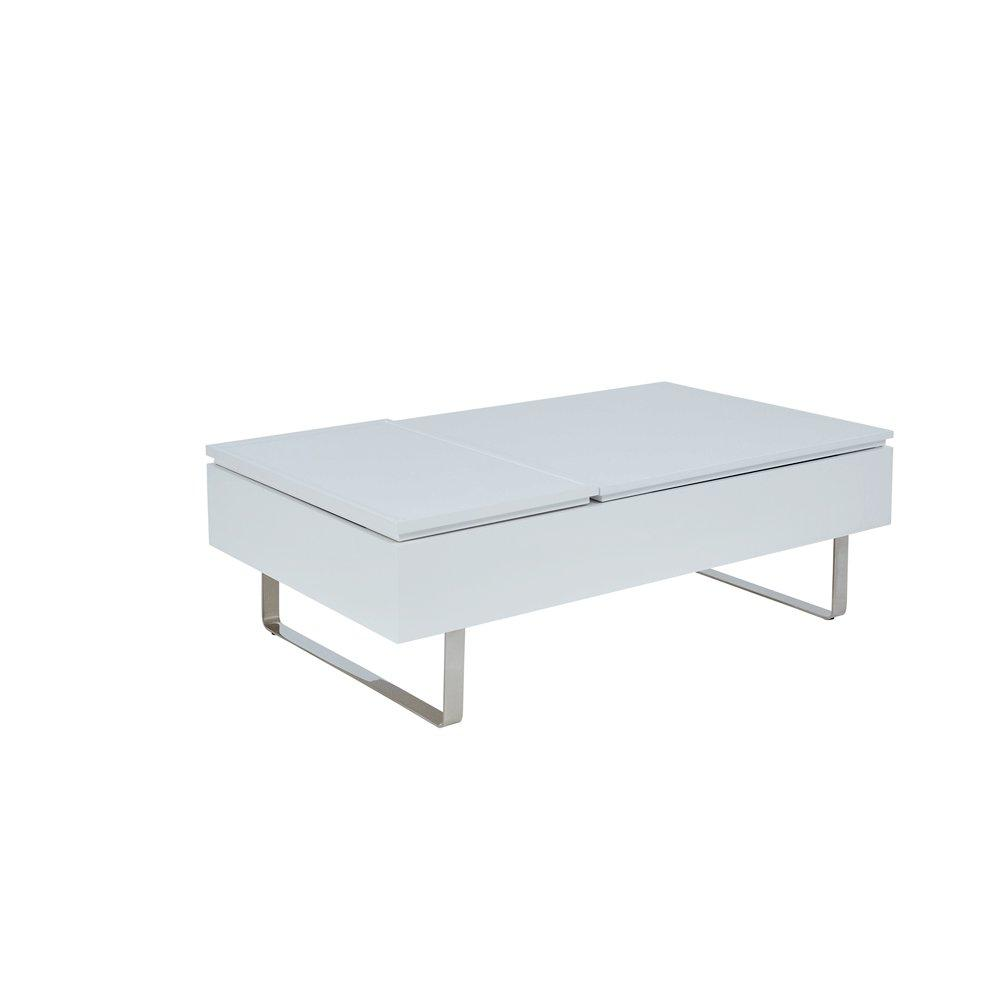 Misto coffee table double lifting stone