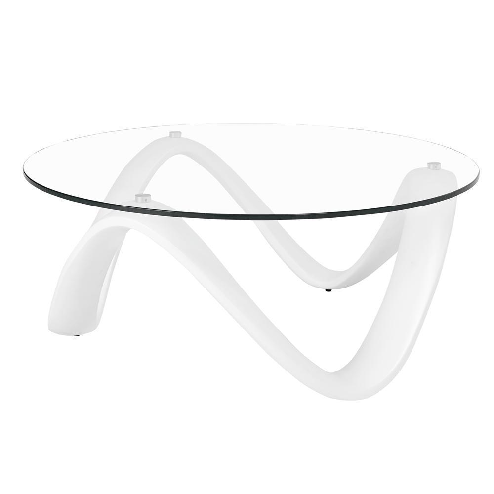 Rennes coffee table white