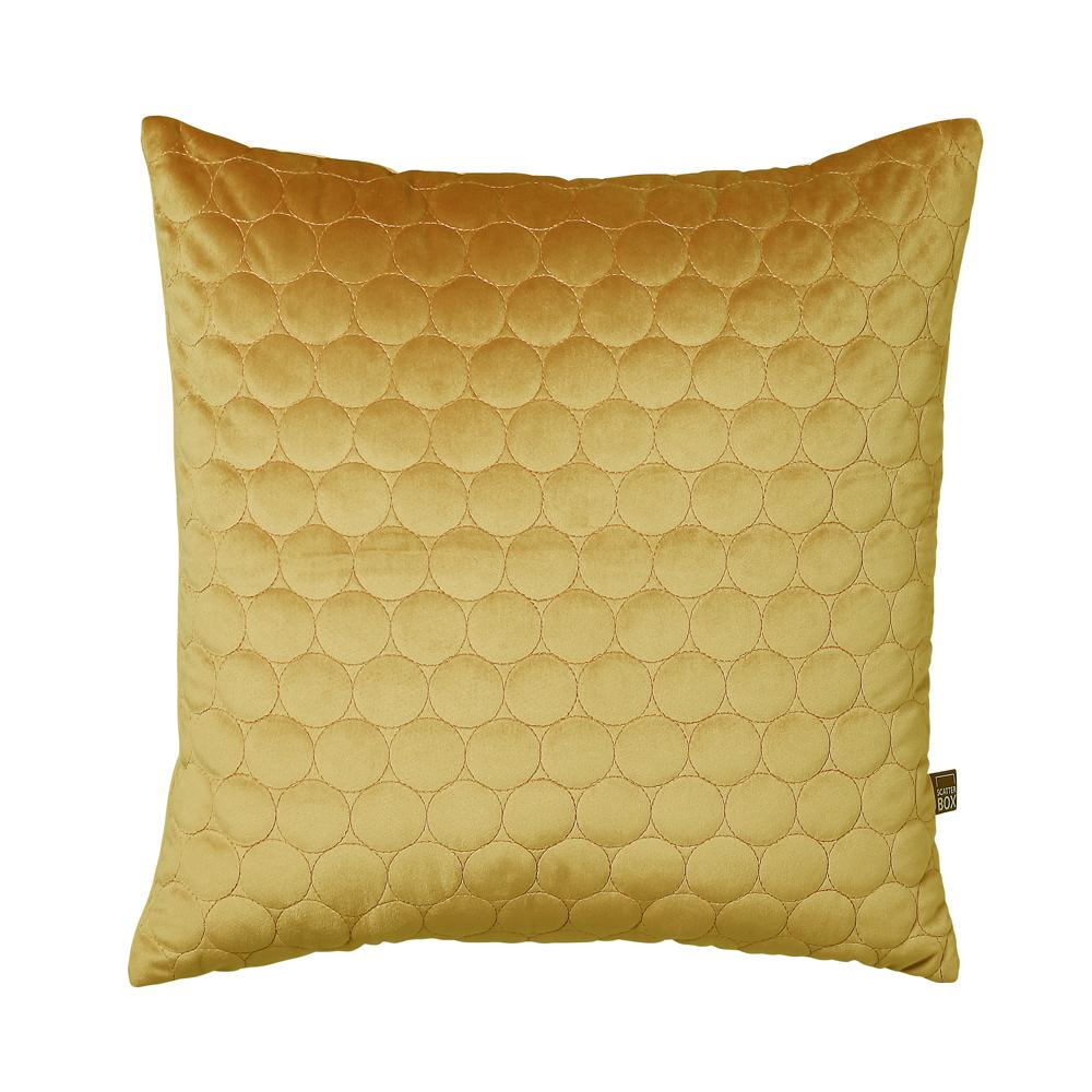 Rosalie cushion antique gold
