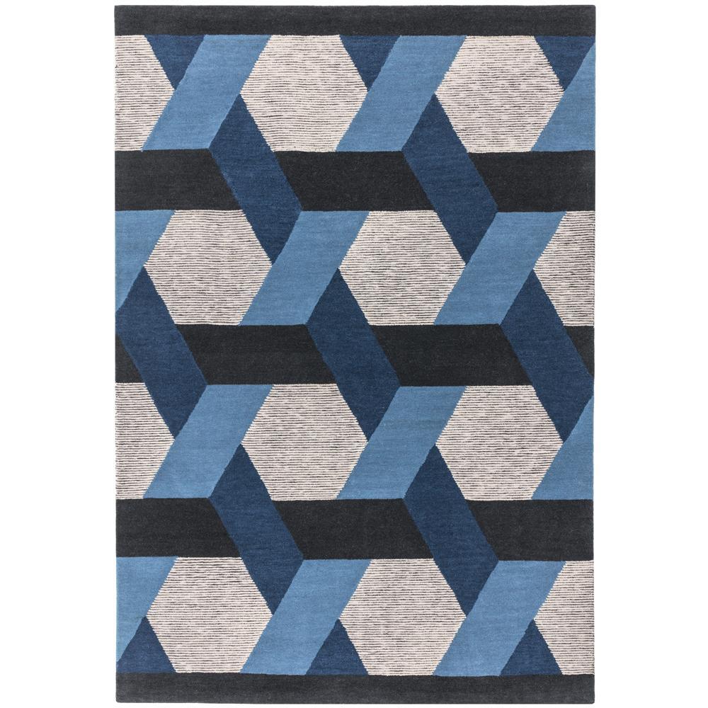 Alessia small rug blue