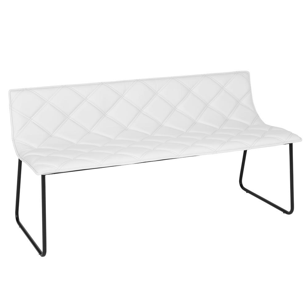 Portela bench white