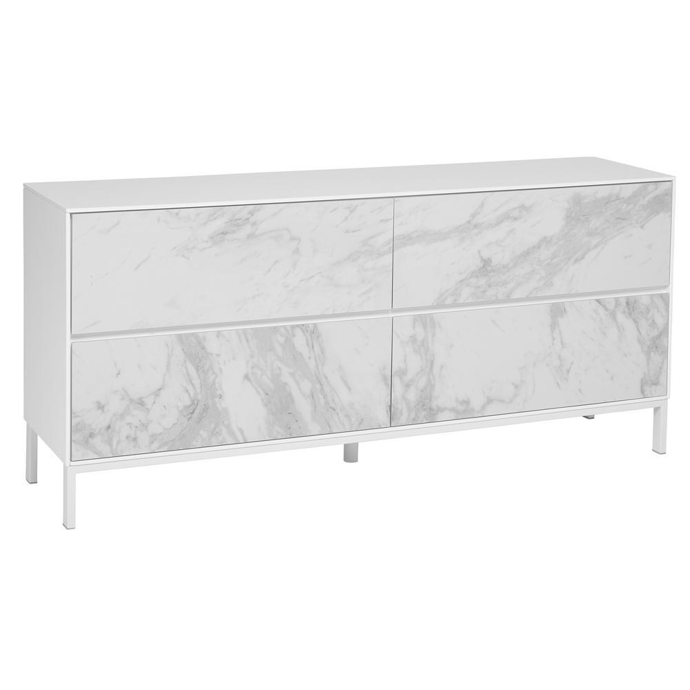Avant sideboard white marble ceramic
