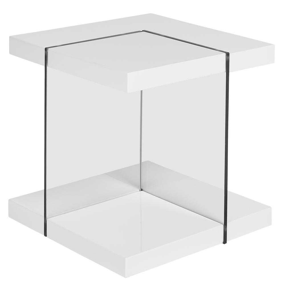 Sturado side table white