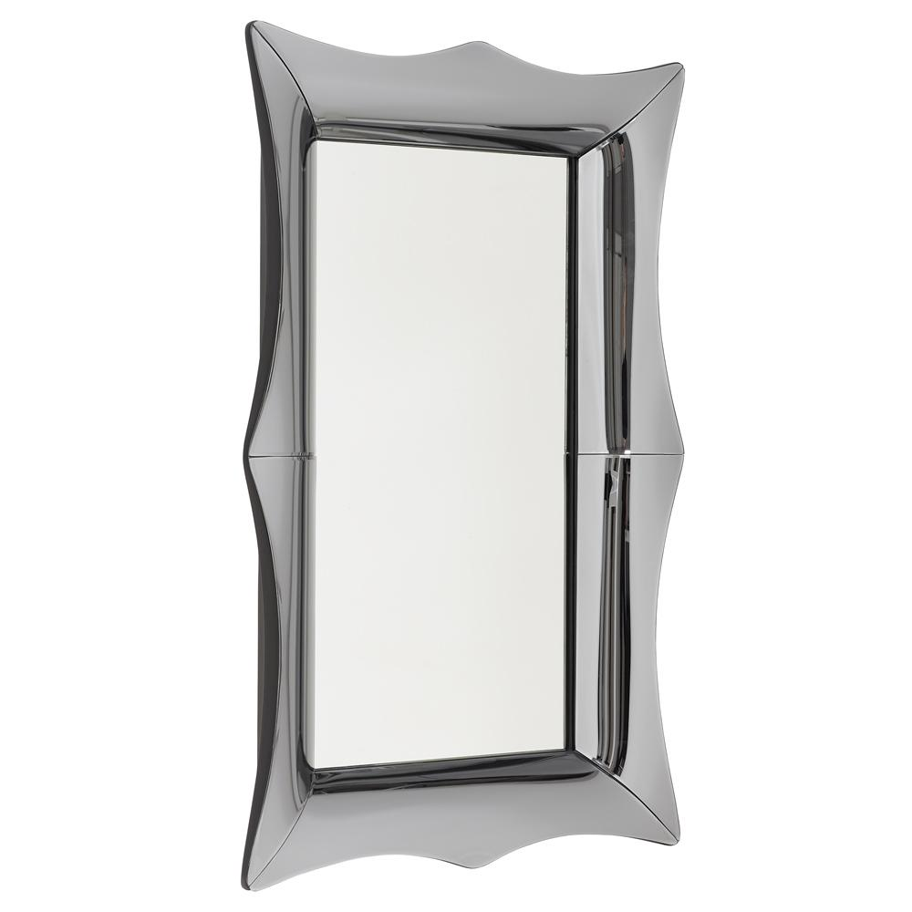 Pettine medium wall mirror smoke