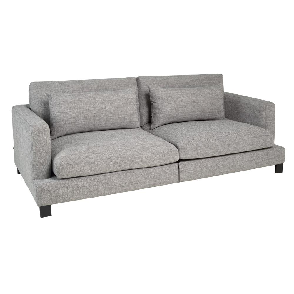 Lugano II four seater sofa callida grey