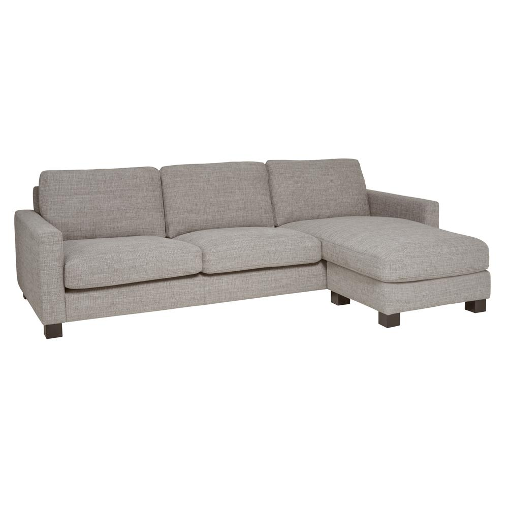 Monaco four seater lounger sofa callida grey