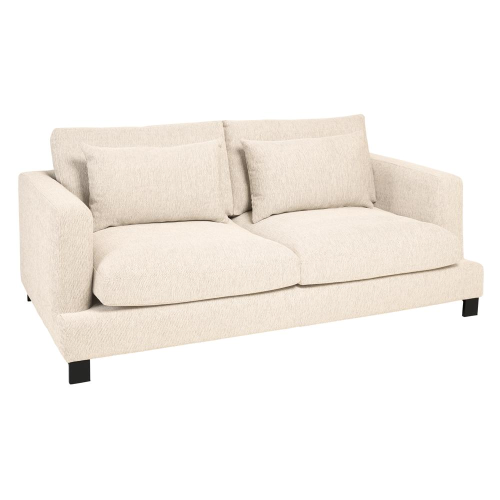 Lugano II three seater sofa callida ivory