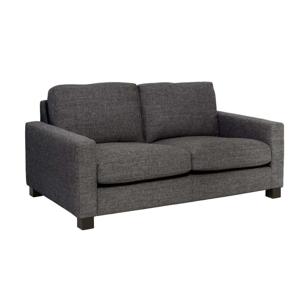 Monaco two seater sofa callida charcoal