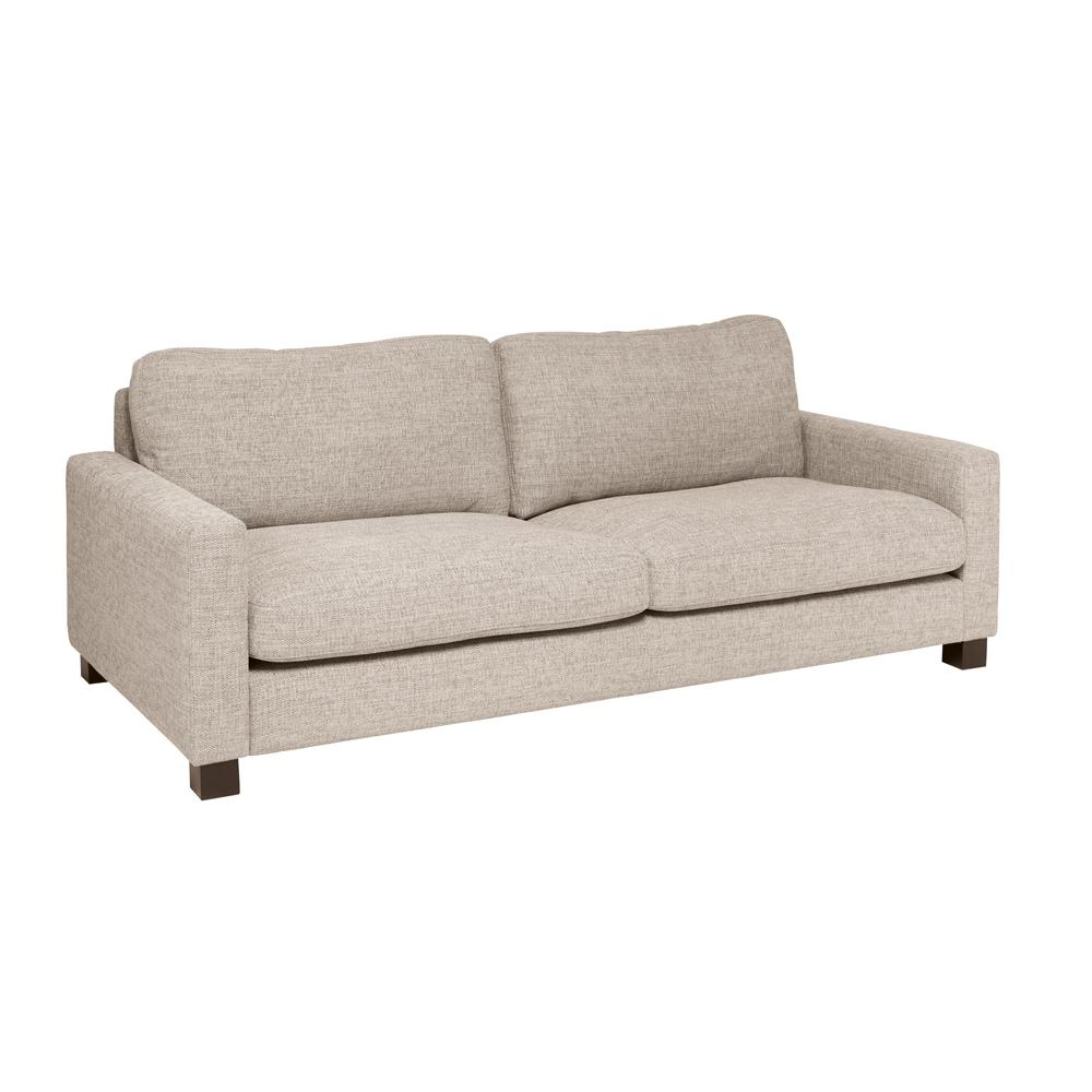 Monaco three seater sofa callida sand