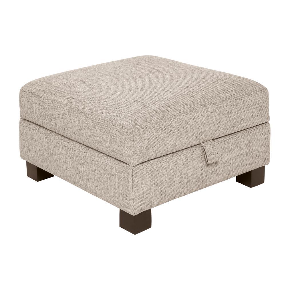 Monaco storage footstool callida sand