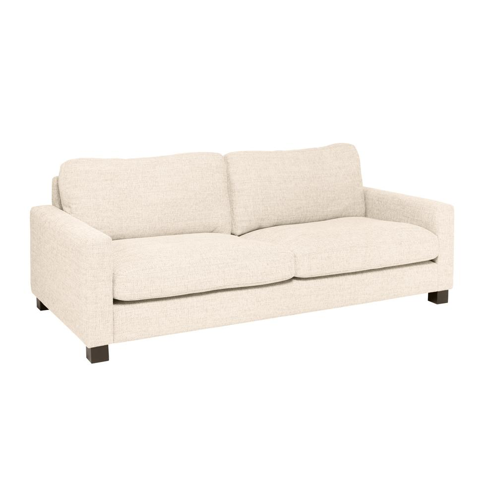 Monaco three seater sofa callida ivory