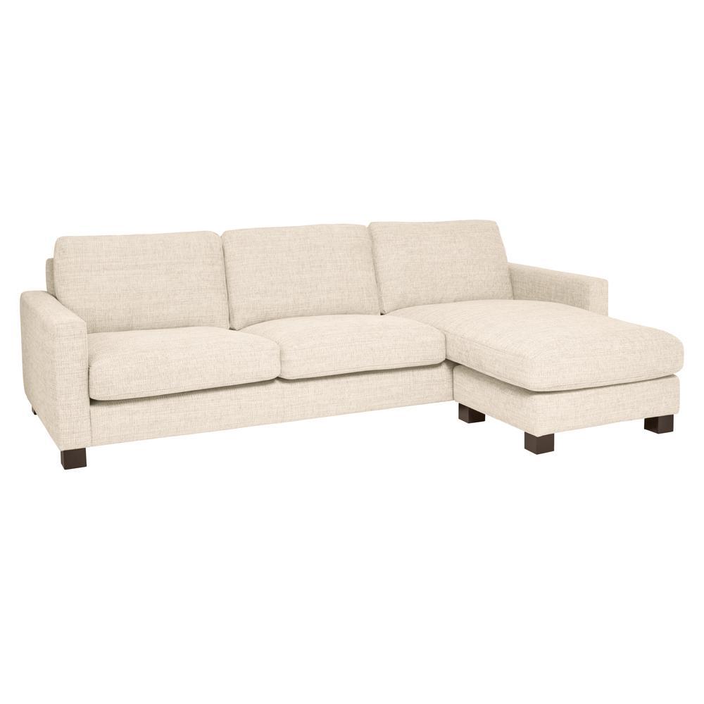 Monaco four seater lounger sofa callida ivory