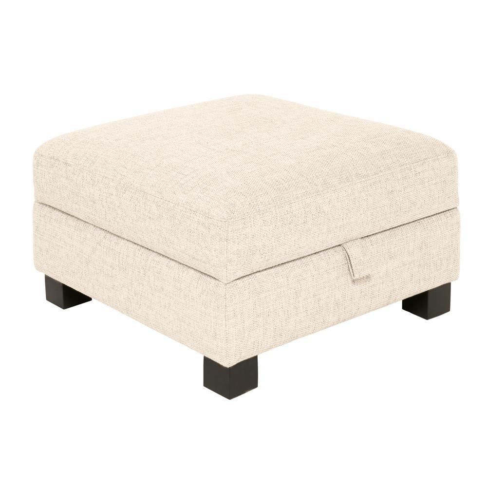 Monaco storage footstool callida ivory