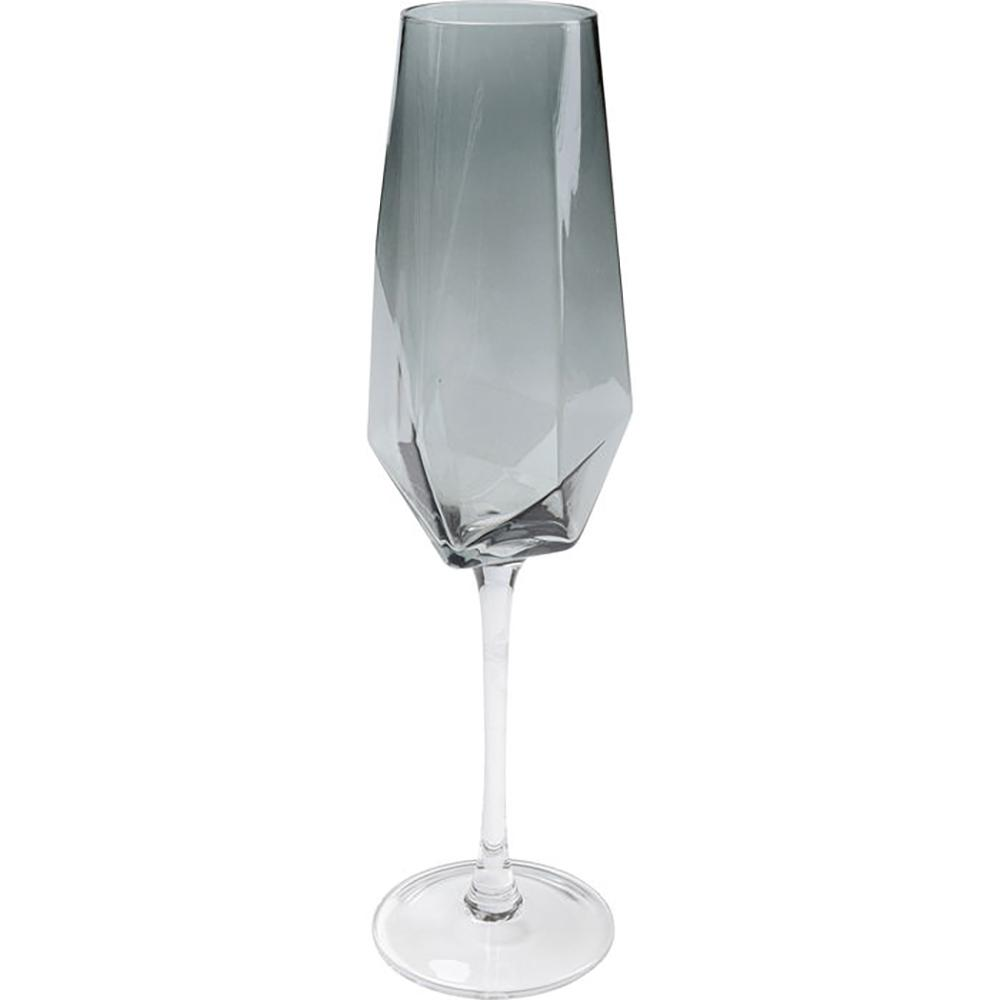 Fumo diamond champagne glass smoke