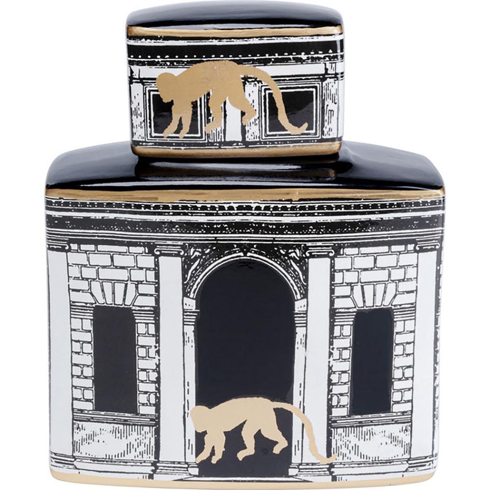 Tempio square temple decorative jar