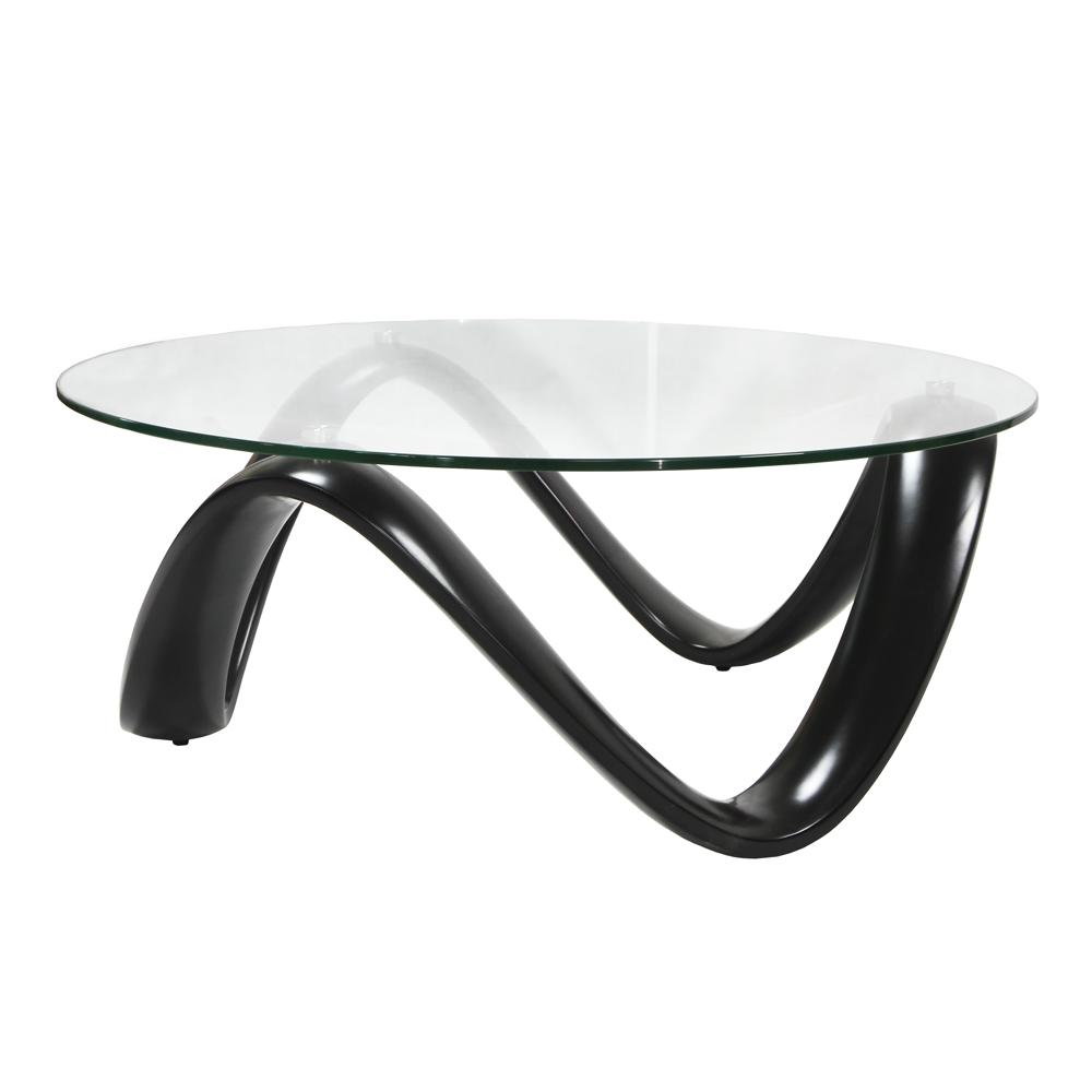Rennes coffee table black