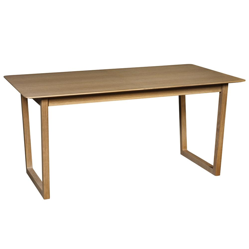 Ease double extending 4-6 seater dining table oak