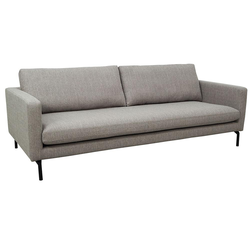 Modena three seater sofa modena grey