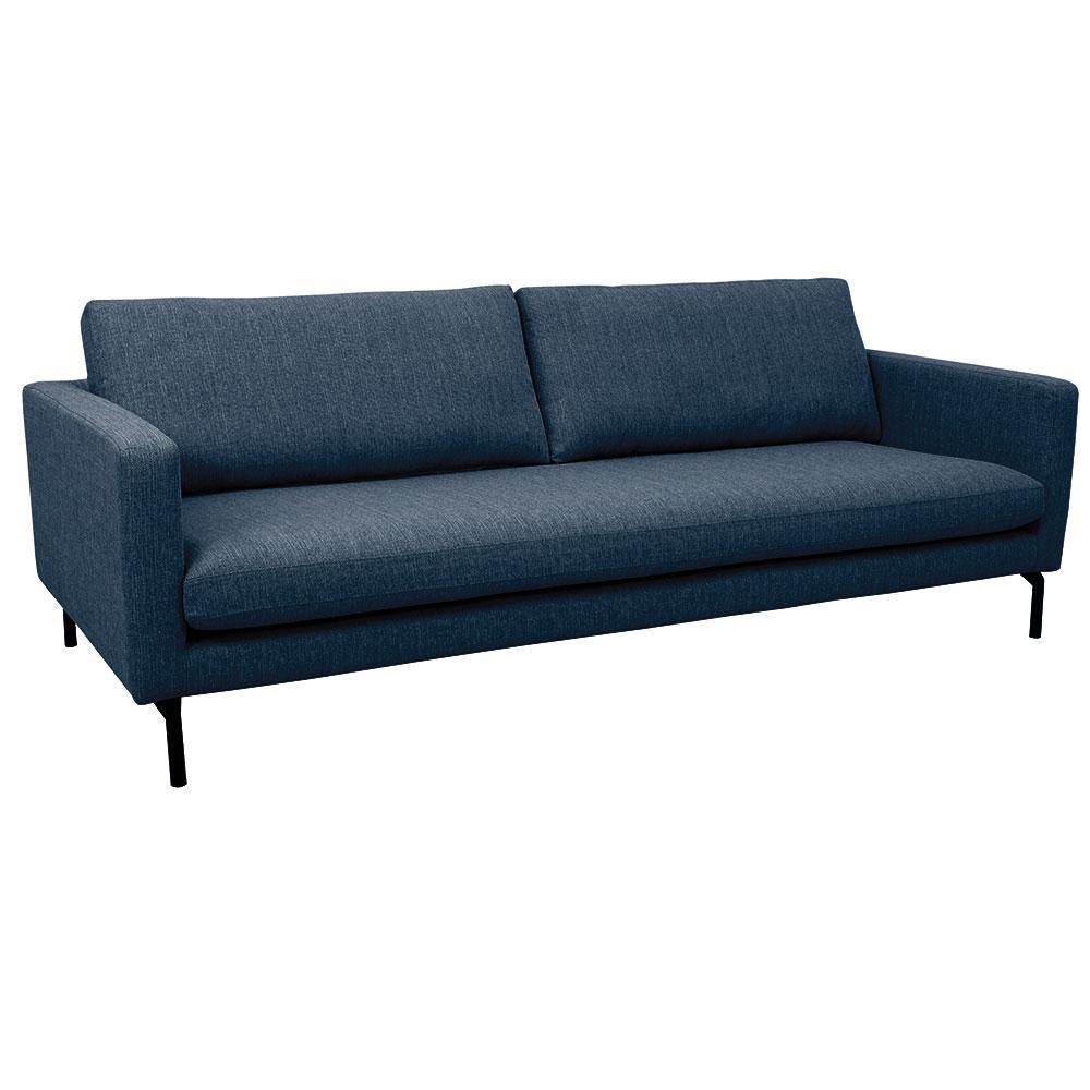Modena three seater sofa modena blue