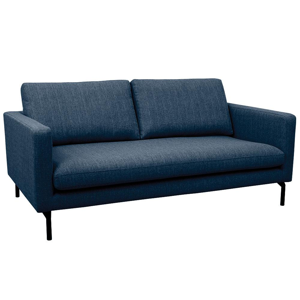 Modena two seater sofa modena blue