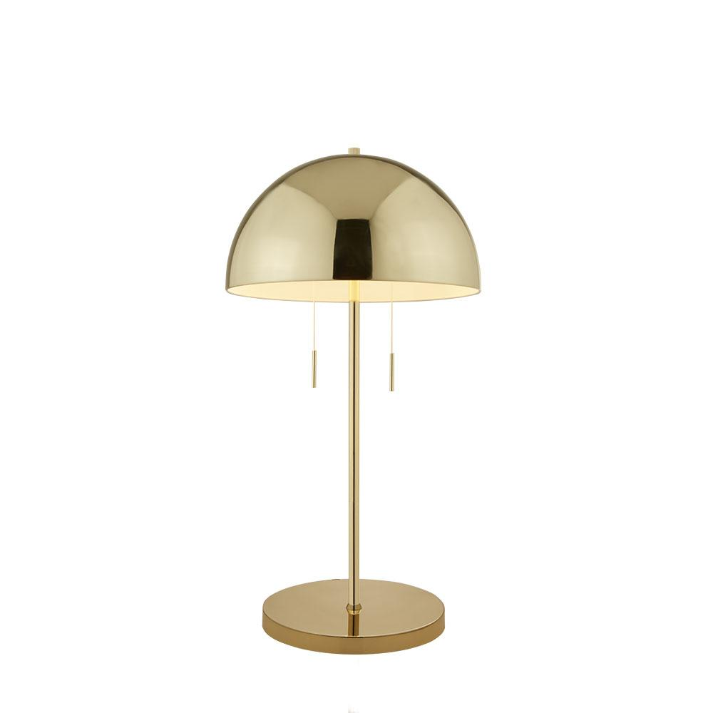 Cupola table lamp gold
