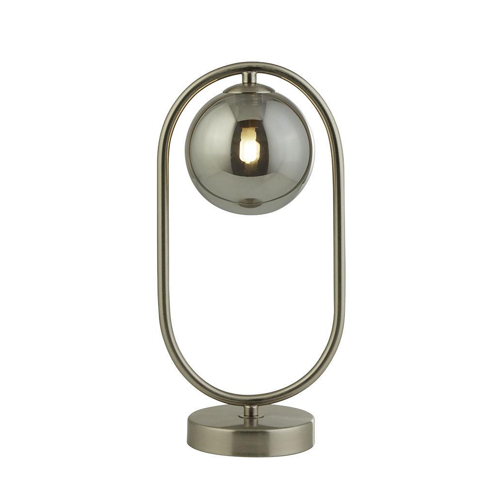 Pochi table lamp satin nickel