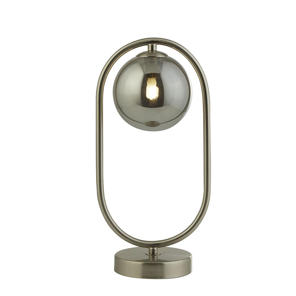 Pochi table lamp satin nickel