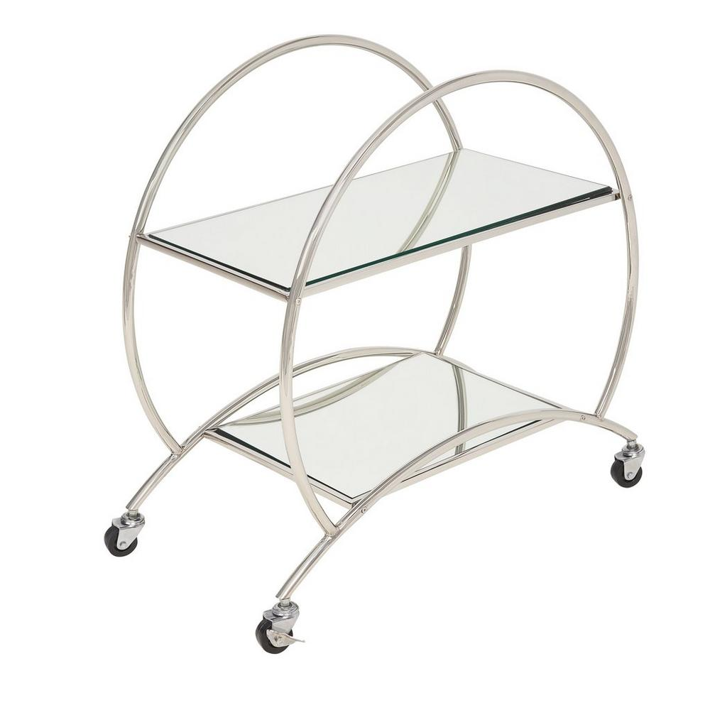 Beber drinks trolley chrome