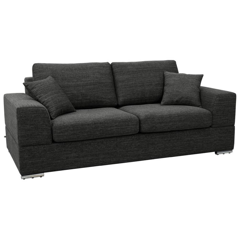 Varenna three seater sofa callida charcoal